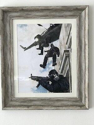 "Sas "" Operation nimrod""Limited edition prints"
