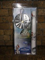 Licensed Disney's Frozen Olaf Sticker Wall Clock big or small You Design NIB
