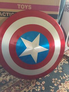 Captain America 75th Anniversary Metal Shield (rare)