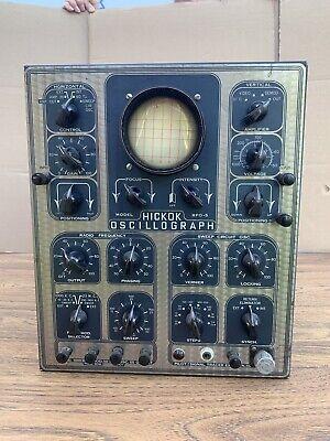 Rare Hickok Rfo-5 Oscillograph W Manual