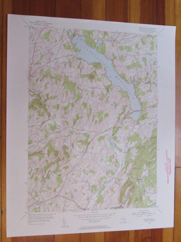 Tomhannock New York 1956 Original Vintage USGS Topo Map