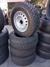 6 stud 16 inch wheels With MUDDIES!! Park Ridge Logan Area Preview