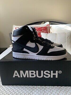 Nike Dunk High x Ambush Black White Size 12 - CU7544-001