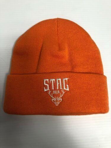 *NEW* Stag Beer Hat - Orange Beanie