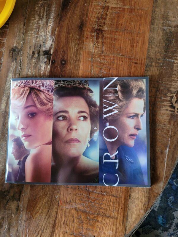 THE CROWN Season 4 FYC Press Photo Book NETFLIX 2020 Promo
