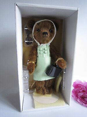 Franklin Mint mohair Jackie Collector Bear. NRFB. Mint. Perfect. Gorgeous.