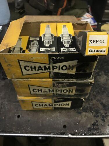 Airplane Sparkplug Champion XEF-14