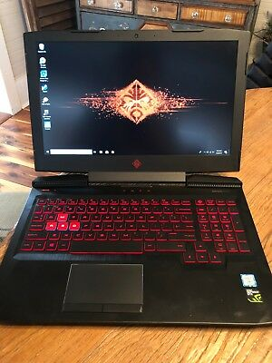 HP OMEN Gaming Laptop 7700HQ- 1050 4gb, NVMe M.2 SSD 250gb + 1TB HD