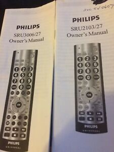 Philips remote Universal