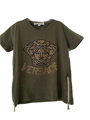 Boys Young Versace T-Shirt (Size: 2-3 Years)
