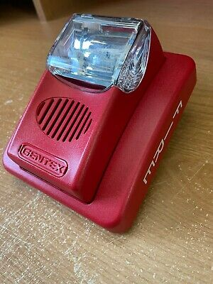 Gentex Commander 3 Gec24-75wr Horn-strobe Fire Alarm