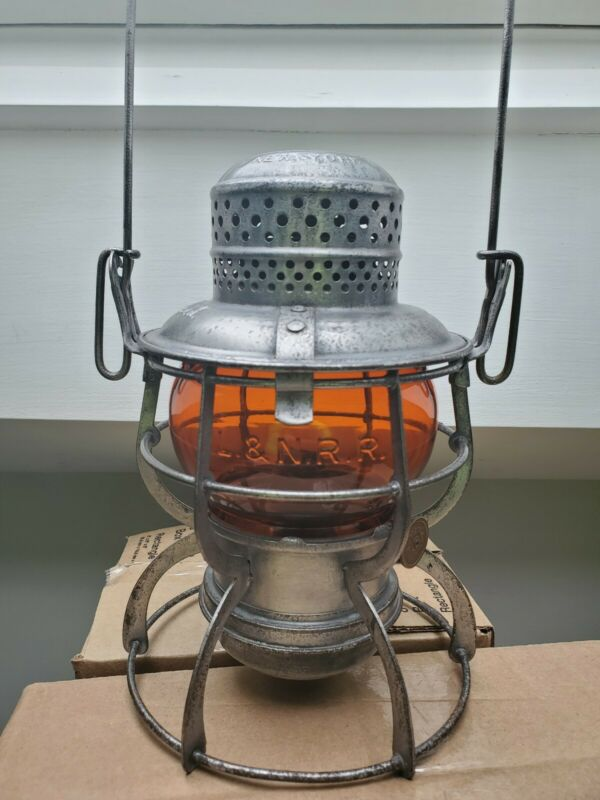 L&N Amber Cast Railroad Lantern