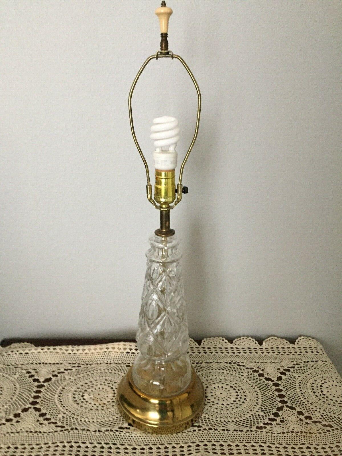 Table Lamp Mid Century Leviton Br