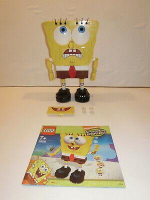 (J2) Lego 3826 Build-a-Bob Spongebob With Ba Used 100% Complete