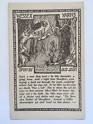 Old Postcard, Wessex Yarns - Tale of the Man A'Lost - Spun by Old Josh for sale  Shipping to Nigeria