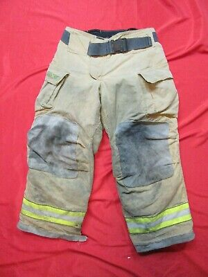34 X 28 Cairns Reaxtion Firefighter Pants Bunker Turnout Fire Gear Rescue Towing