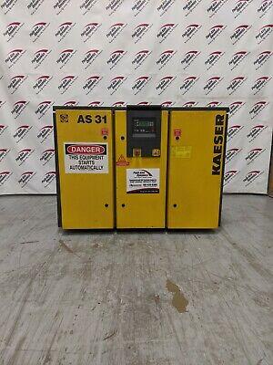 Used Kaeser As 31 25 Hp Rotary Screw Air Compressor