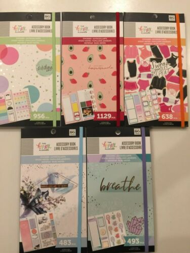 The Happy Planner Accessory Book- YOU PICK  NEW