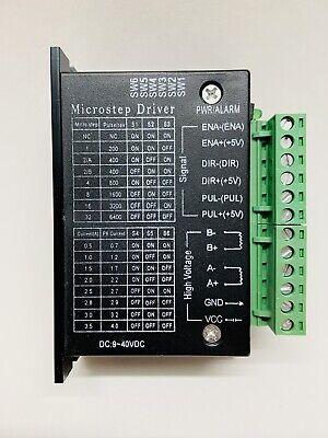 Tb6600 Stepper Driver 4a Micro-step Cnc 940v Dc Controller For 57byg250h Motor