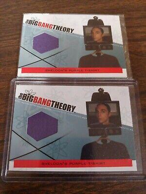 Big Bang Theory Costumes (Big Bang Theory Seasons 3 & 4 Sheldon's T-Shirt Wardrobe Costume Card)