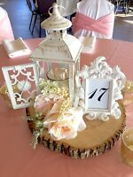 Beautiful rustic centerpieces for weddings/special events