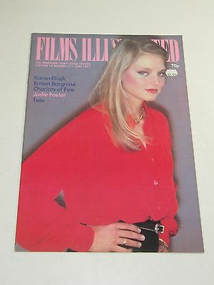 Films Illustrated Magazine- Karen Black, Jodie Foster- Vol. 10 No. 117-June 1981