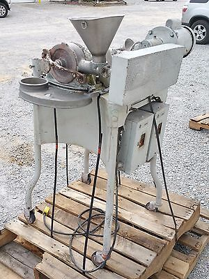 Model 6 Am Pulverizer Mfg By Pulva Corperation - Stainless Steel - 1 Hp