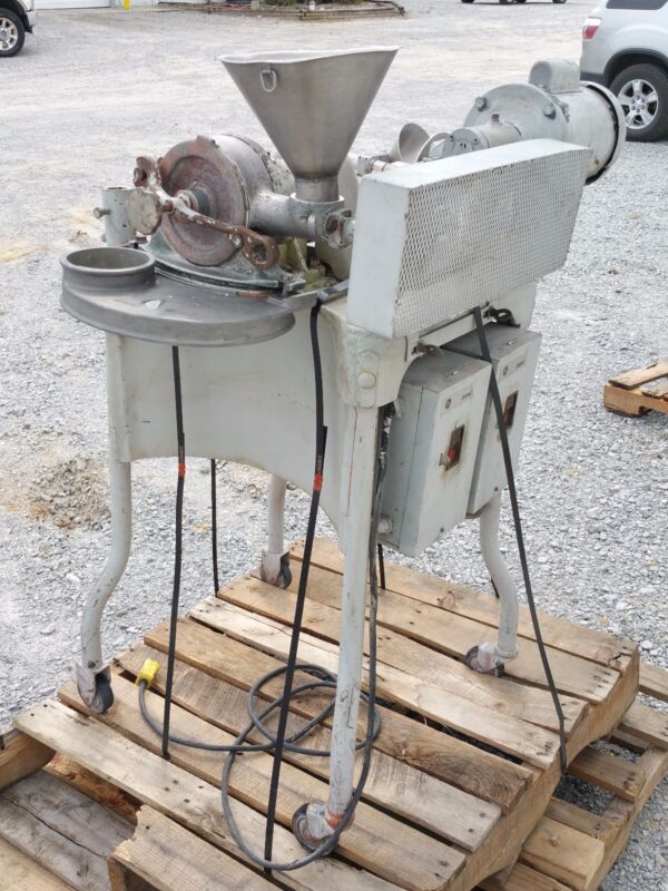 Model #6 AM Pulverizer MFG BY PULVA Corperation - Stainless Steel - 1 HP