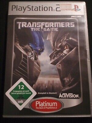 Transformers: The Game[Platinum] PAL PlayStation2 mit Anleitung mit PayPal bitte, used for sale  Shipping to Nigeria