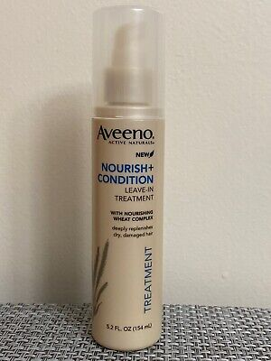 Aveeno Active Naturals Nourish + Condition Leave-In Hair Treatment 5.2 oz
