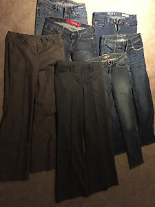 7 pairs of jeans