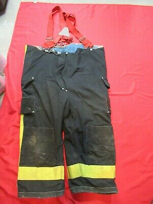 52 X 24 1994 Janesville Lion Firefighter Fire Pants Bunker Turnout Gear Vtg