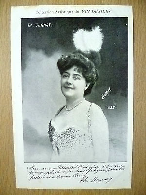 POSTCARDS of THEATRE & OPERA STARS- TH. CERNAY by Vin Desiles