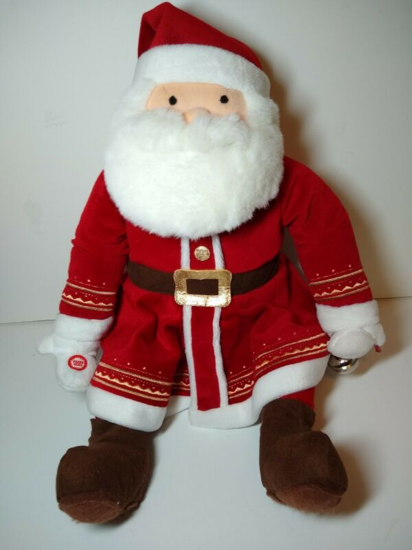 "Polar Express Plush 16"" Santa"