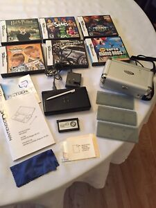Nintendo DS Lite Portable Game Console & 6 Games, etc REDUCED!!