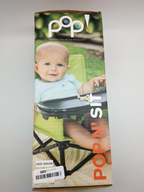 Summer Infant Pop Kids Sit Portable Booster Green/Black