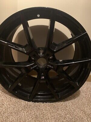 "20"" BMW M V-Spoke Jet Black Wheels M850"