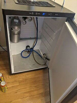 Kegerator Digital Draft Beer Dispenser - Single Faucet - D System Beer Fridge