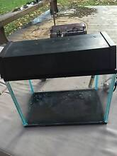 Aquarium, Small fish tank, filter, light, heater and gravel. Buxton Wollondilly Area Preview
