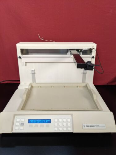 Gilson FC 204 Fraction Collector / TESTED / 30 DAY GUARANTEE