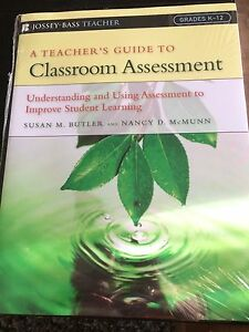 A teacher's guide to classroom assessment Regents Park Logan Area Preview
