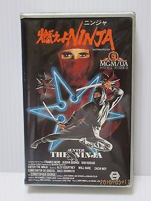 ENTER THE NINJA: Franco Nero - Japanese original Vintage Beta RARE
