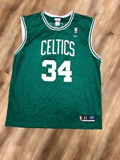 PAUL PIERCE BOSTON CELTICS REEBOK NBA BASKETBALL JERSEY XL - eBay