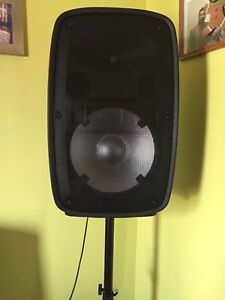 Ion total pa glow powered speaker