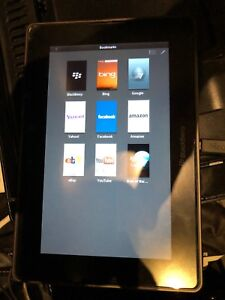 Blackberry Playbook with Box
