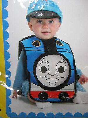 Thomas the Tank Engine Train Dress Up Halloween Toddler Child Costume 12-18mn