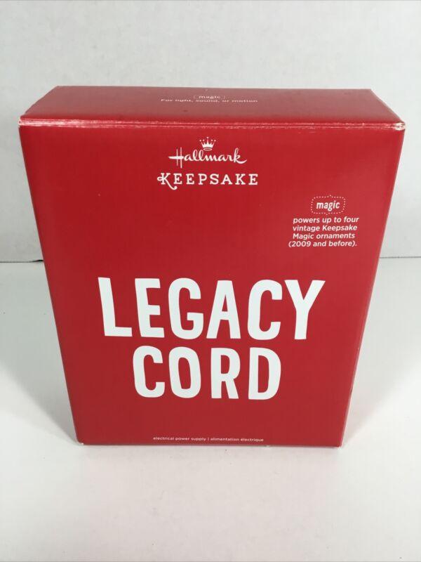 Hallmark Keepsake Legacy Cord Powers Vintage Magic Ornaments From 2009 & Before