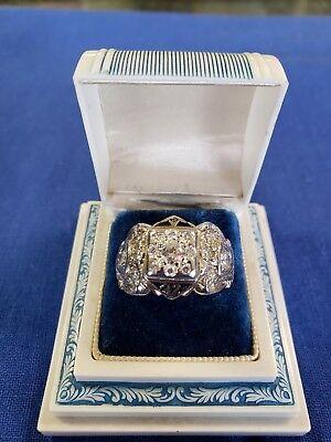Vintage Masonic Ring 32nd Degree Masonic ring