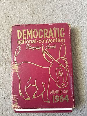 1964 Democratic National Convention playing cards Atlantic City