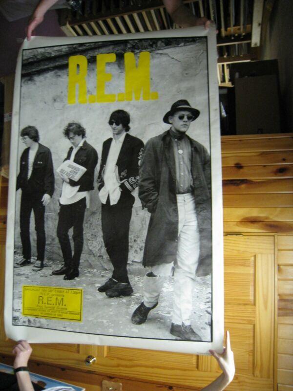 R.E.M. Poster REM R E M Band Shot